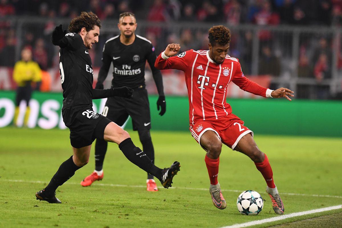 Bayern Munich vs Paris Saint-Germain: UEFA Champions League