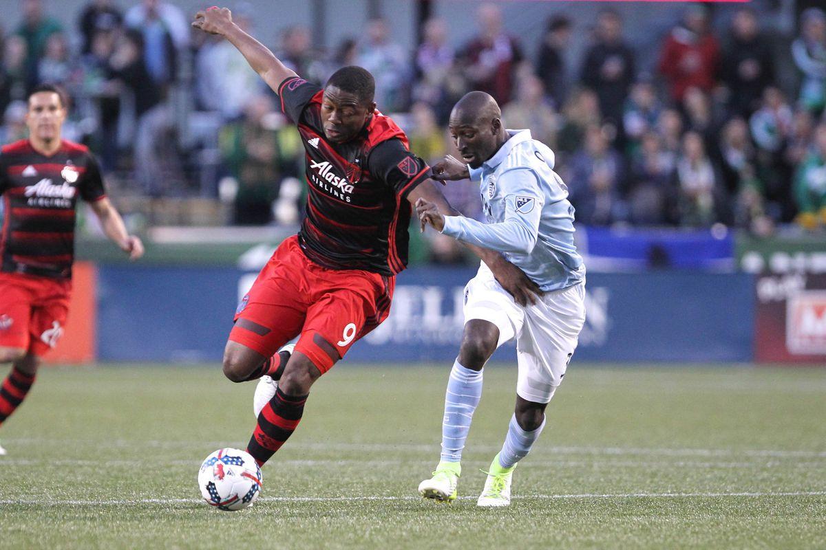 MLS: Sporting KC at Portland Timbers