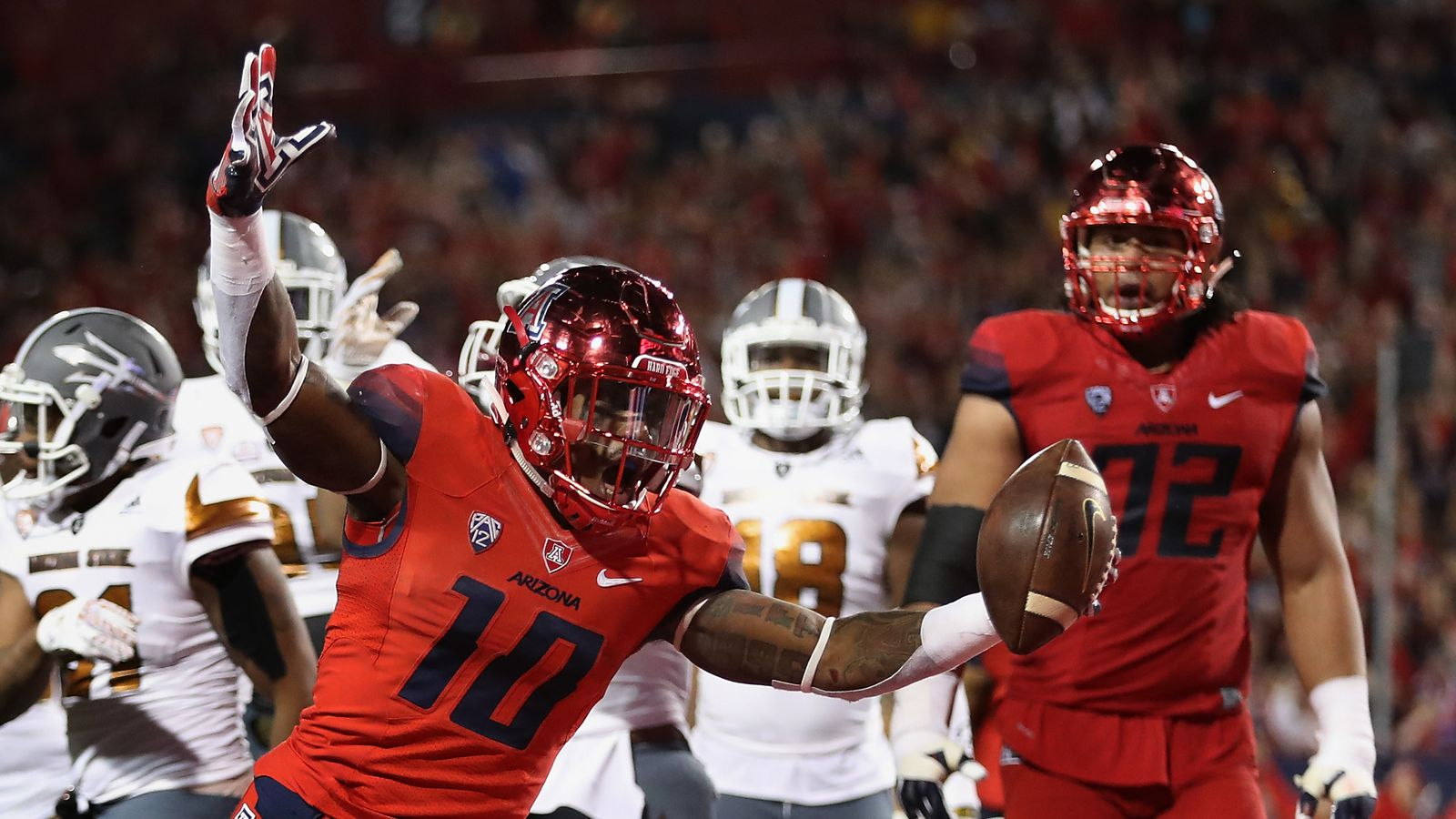 arizona wildcats football home games