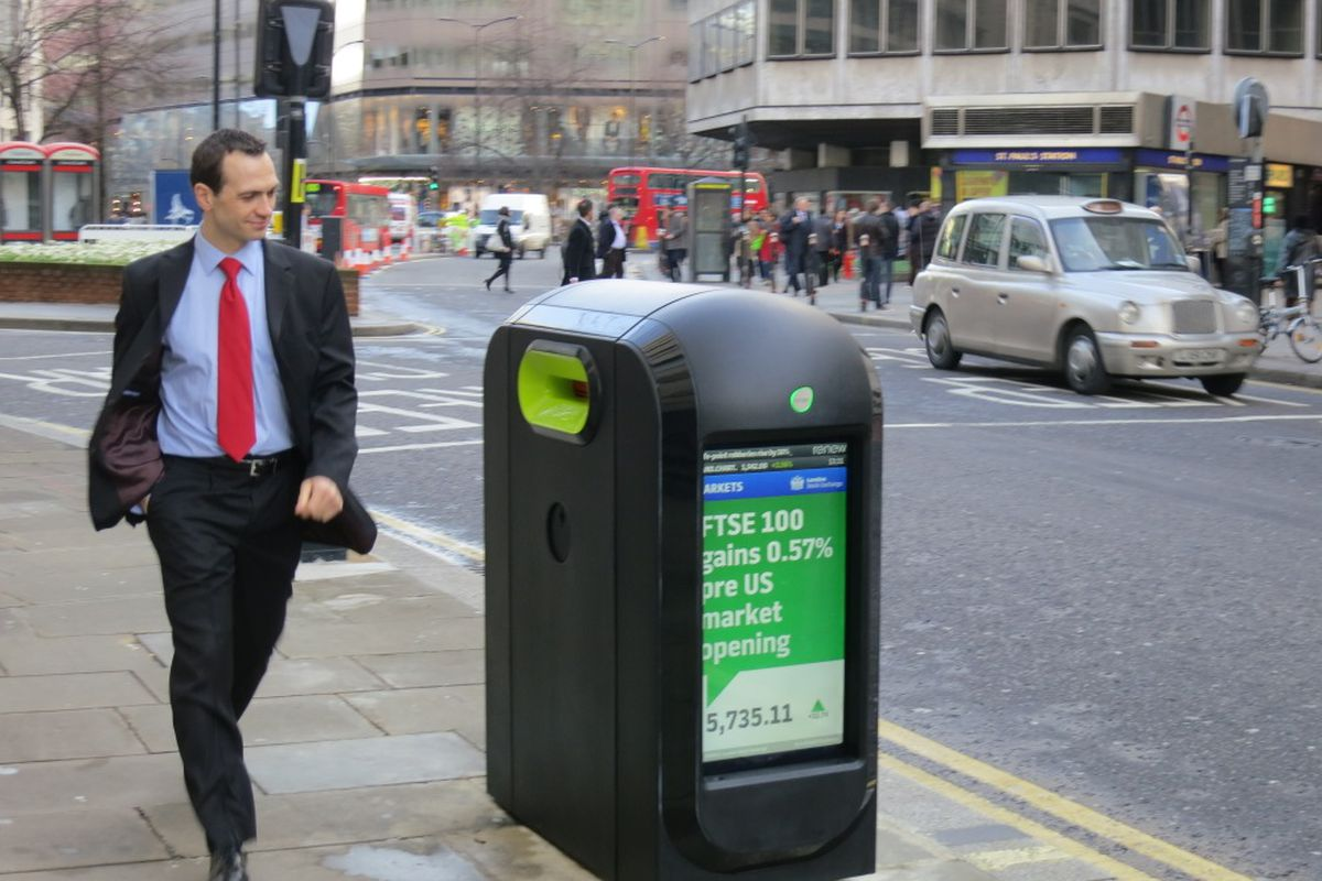 Renew recycling pod