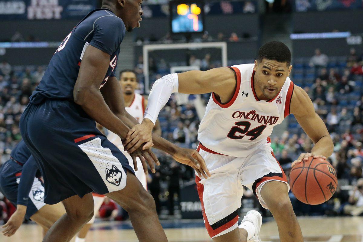 NCAA Basketball: AAC Conference Tournament-Connecticut vs Cincinnati
