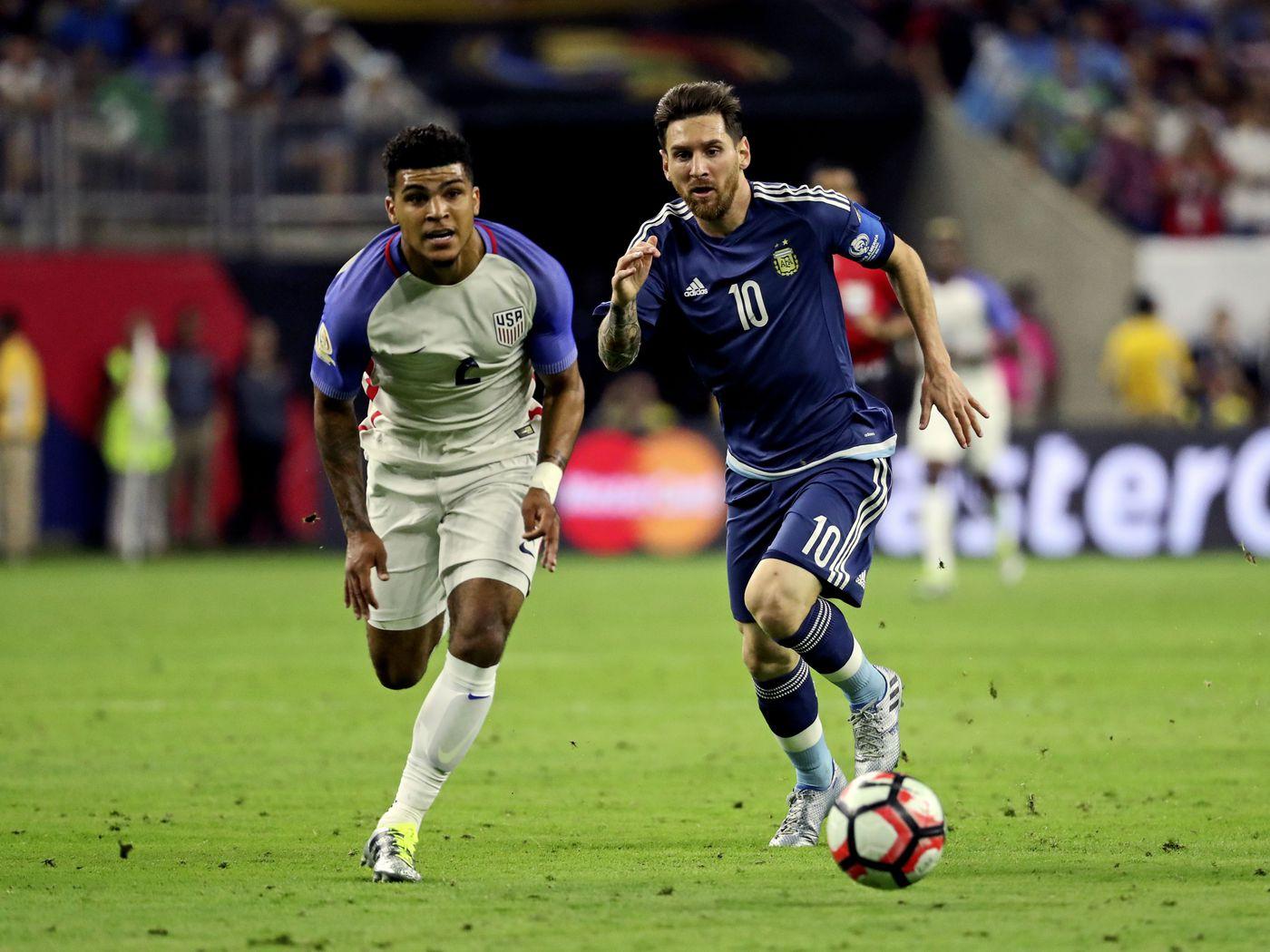 Argentina Vs Chile Copa America 2016