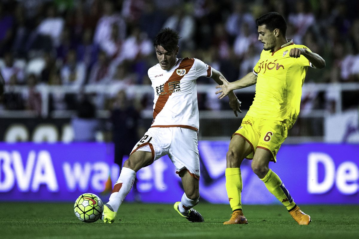 Rayo Vallecano de Madrid v Real Sporting de Gijon - La Liga