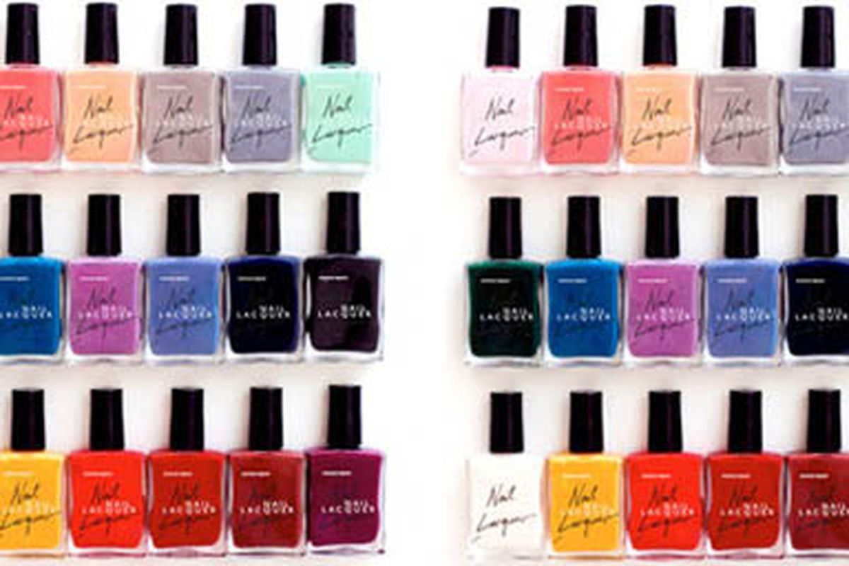 """Image via <a href=""""http://www.electronicbeats.net/News/Lifestyle/American-Apparel-launches-nail-polish"""">Electronic Beats</a>"""