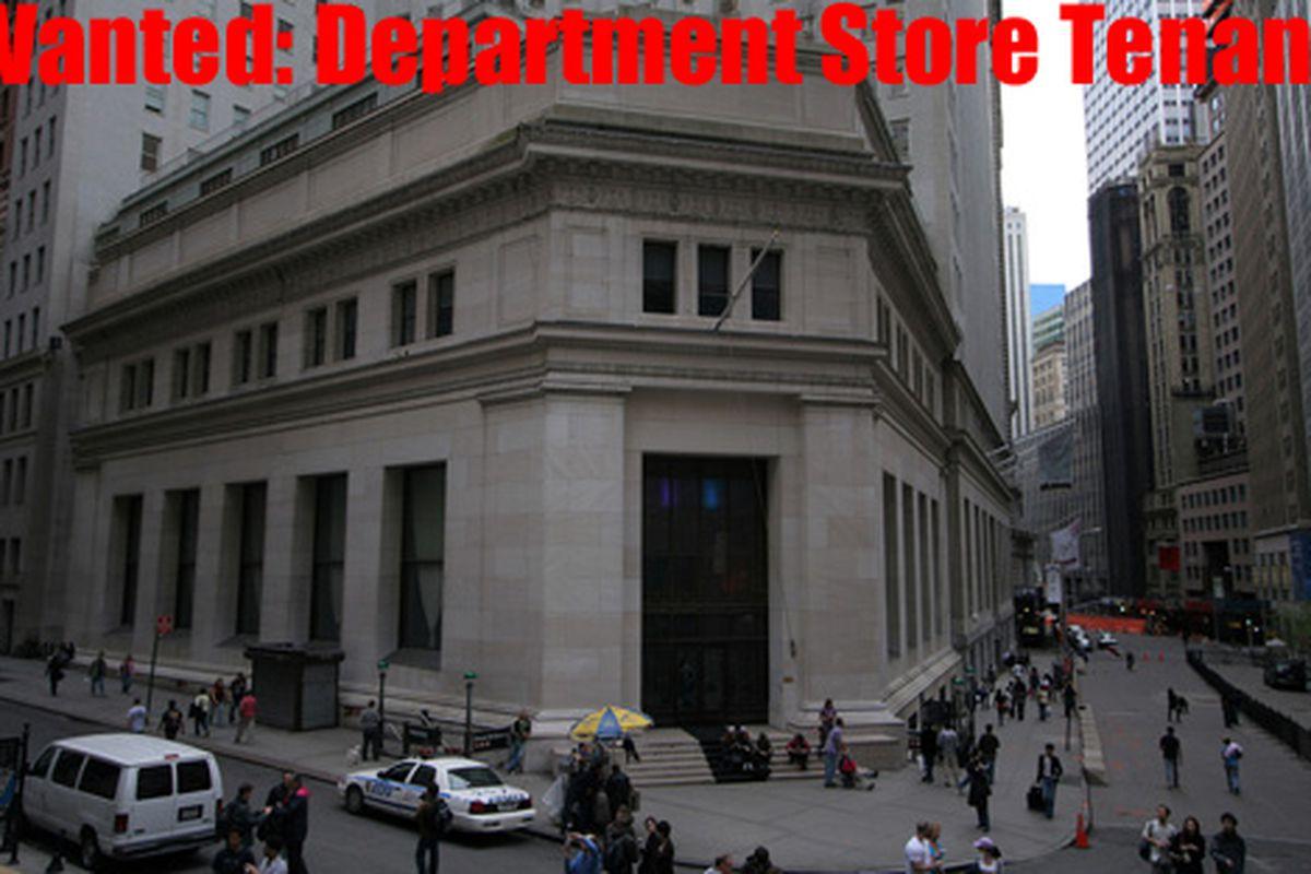 """23 Wall Street via <a href=""""http://www.flickr.com/photos/atestofwill/"""">TrespassersWill/Flickr</a>"""