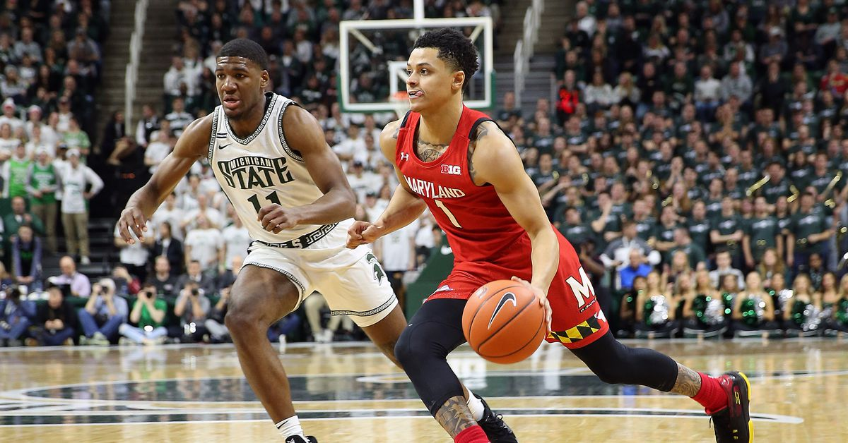 No. 9 Maryland men's basketball overcomes blown lead late, defeats Michigan State 67-60