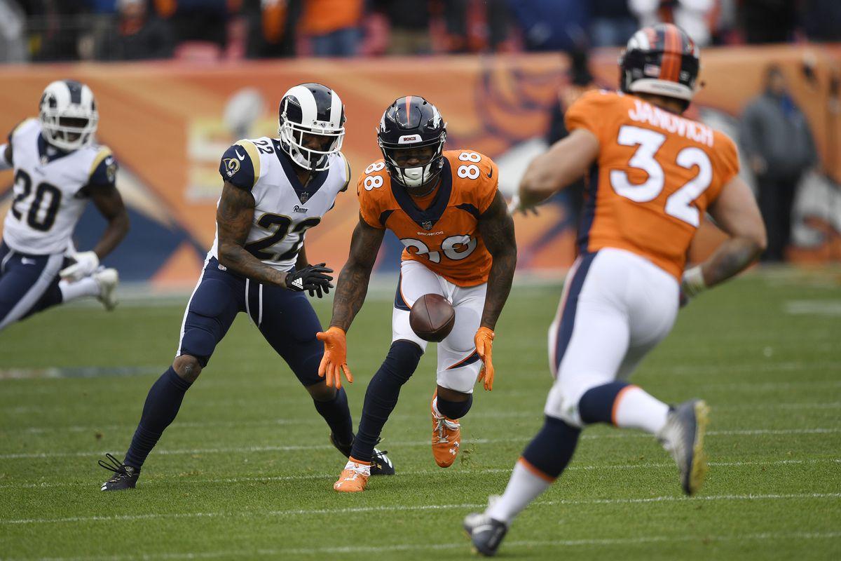 Denver Broncos vs. Los Angelos Rams, NFL Week 6
