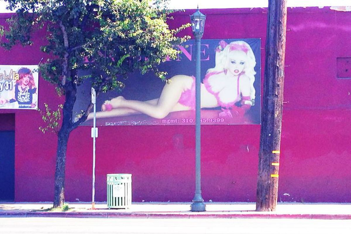 Racked La 20 Questions With Hollywood Billboard Queen Angelyne Racked La