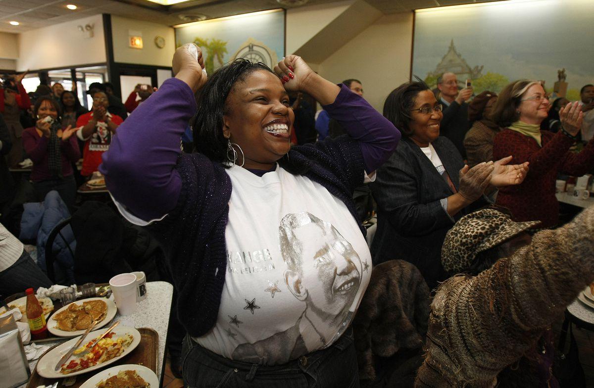 Chicago Celebrates Inauguration Of Barack Obama