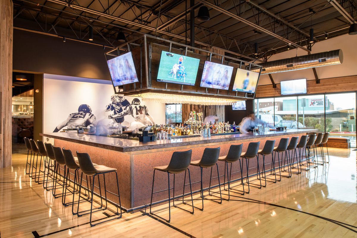 Napa S New Sports Bar Is As Fancy As You Thought It Would Be Eater Sf