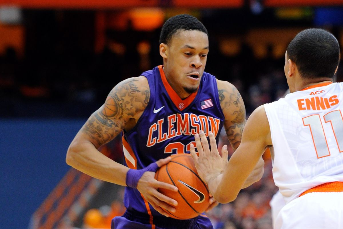 K.J. McDaniels and Tyler Ennis are two prospects shooting up draft boards in ACC play.