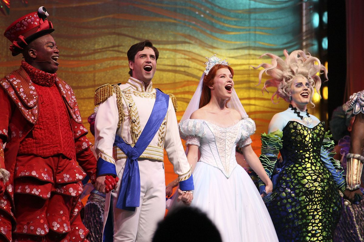 Opening Night For Broadway's 'The Little Mermaid'