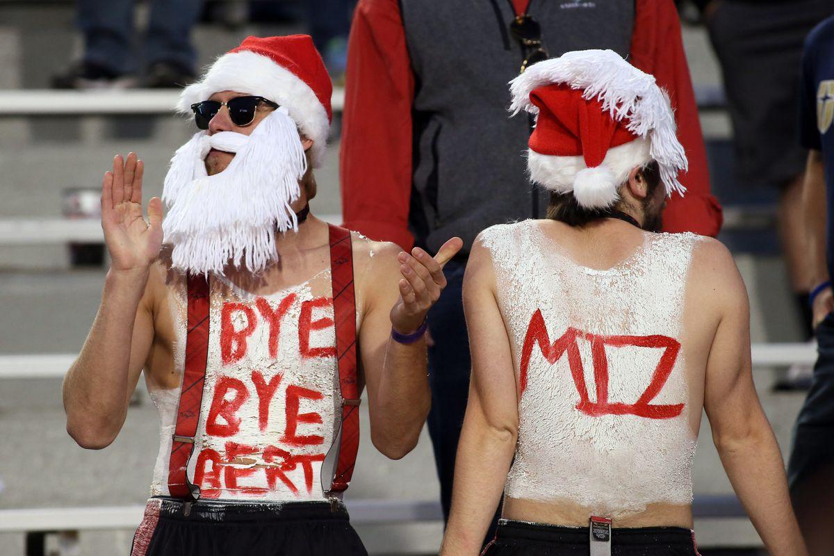 NCAA Football: Missouri at Arkansas