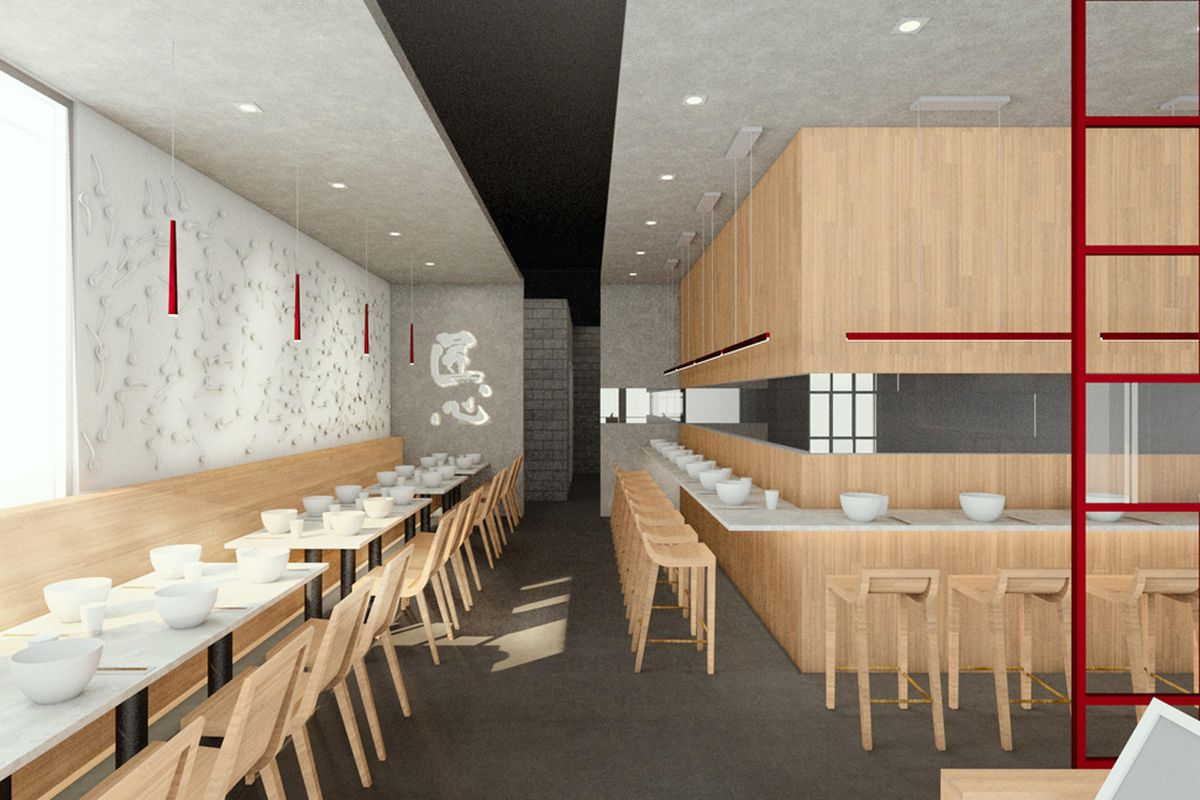 Rendering of Shang Mian, a new concept from Shang Artisan Noodle, headed to the southeast.