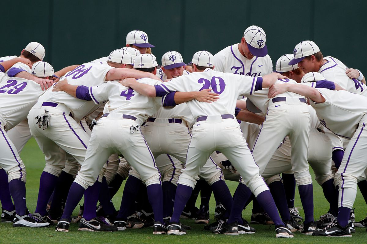 TCU Baseball is putting together an impressive collection of bats for it's 2013 class. (PHOTO COURTESY OF KEITH ROBINSON)