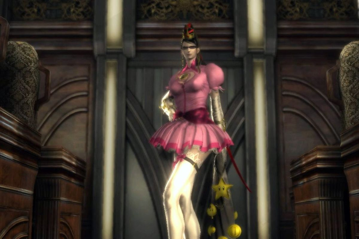 How Bayonetta Got Her Peach Link And Samus Costumes Polygon