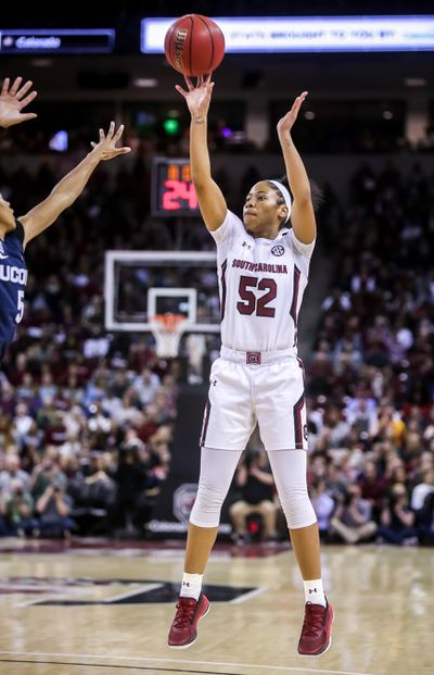 NCAA Womens Basketball: Connecticut at South Carolina