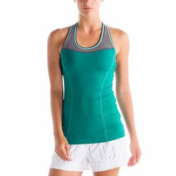 """<b>Lolë</b> Central tank top in glade green, <a href=""""http://www.lolewomen.com/lsw0907.html"""">$40.80</a> from $68"""