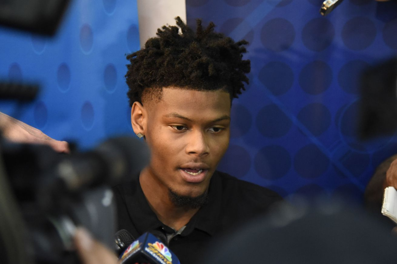 Lakers have already met with Cam Reddish, who says he's been told he will drafted in 3-10 range