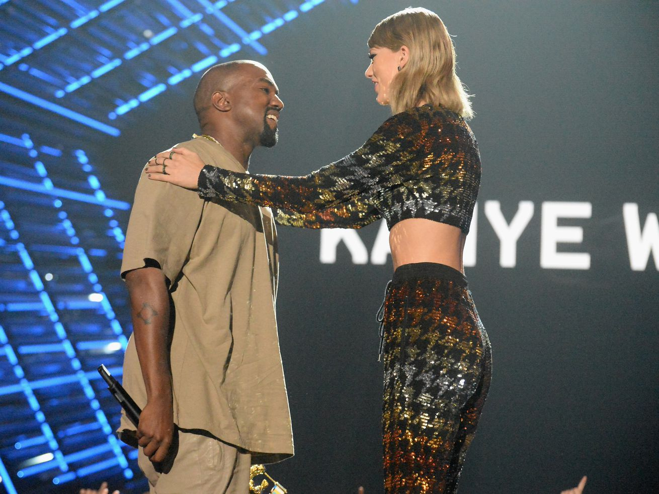 Newly Leaked Footage Shows Taylor Swift And Kanye West Talking