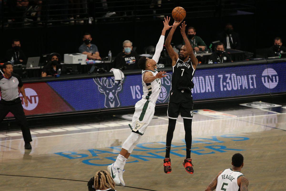 NBA: Playoffs-Milwaukee Bucks at Brooklyn Nets
