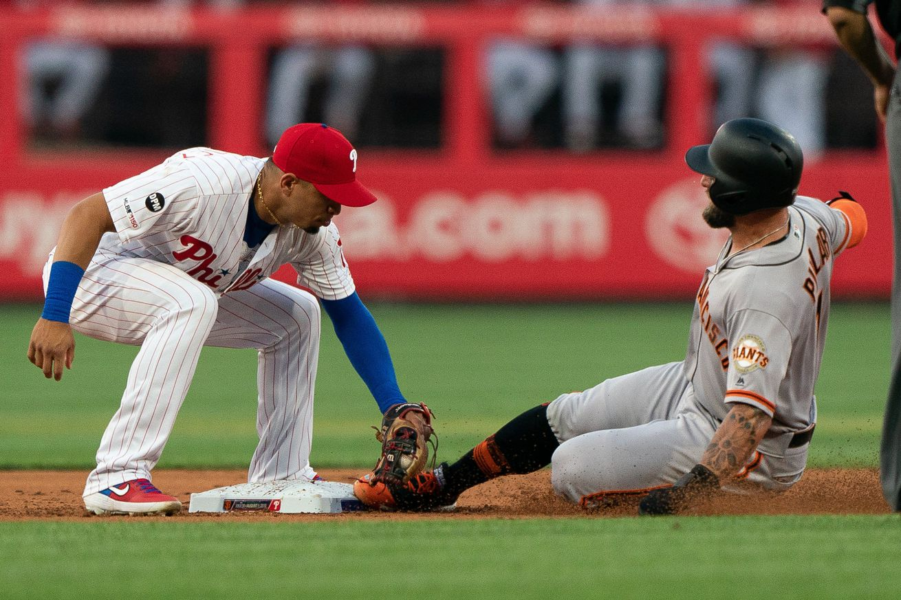 MLB: San Francisco Giants at Philadelphia Phillies