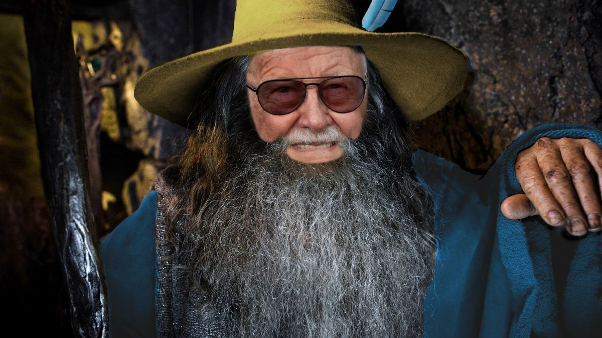 Stan Lee as Tom Bombadil in Lord of the Rings