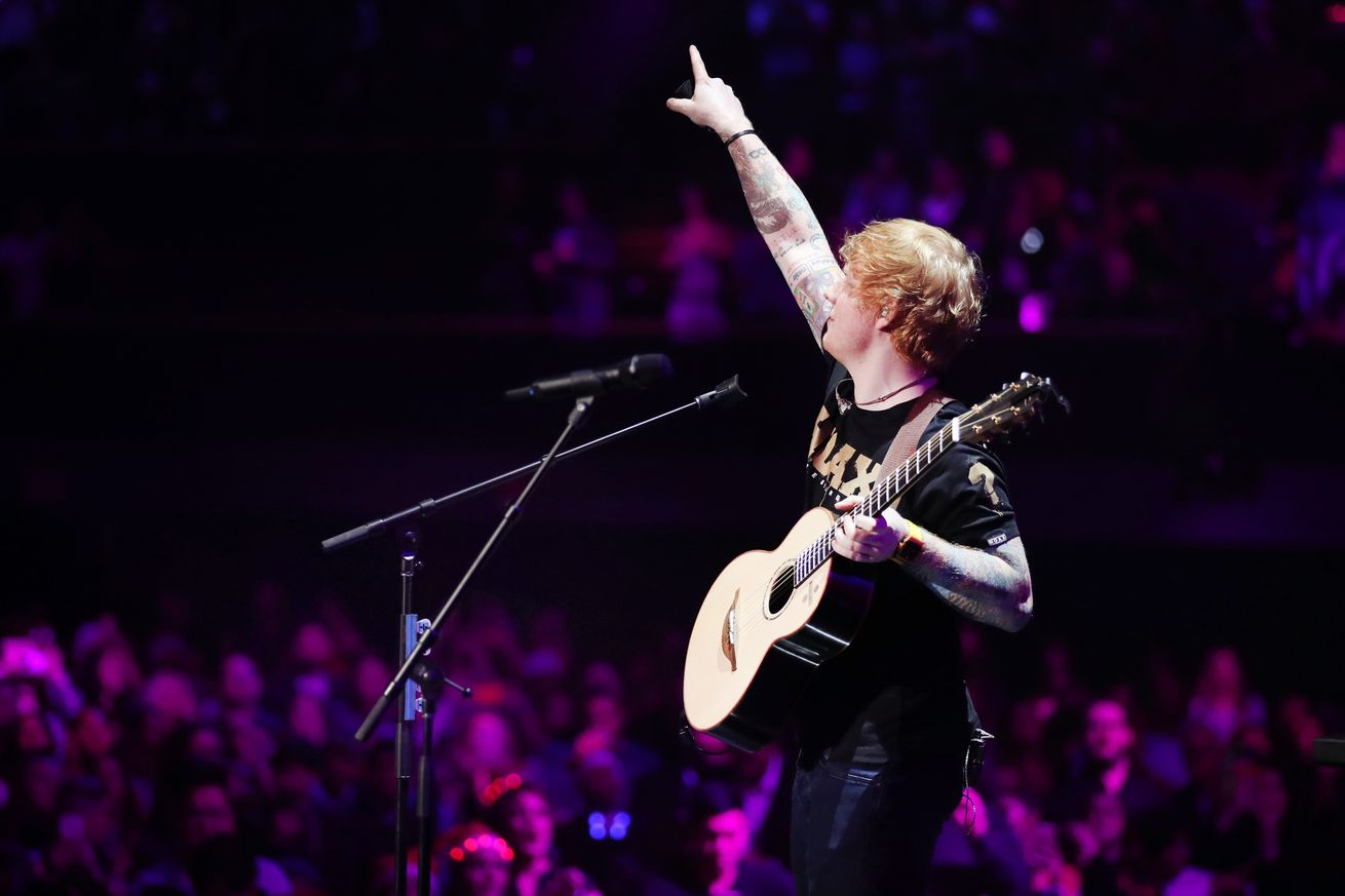 ed sheeran s shape of you is the most streamed spotify track ever