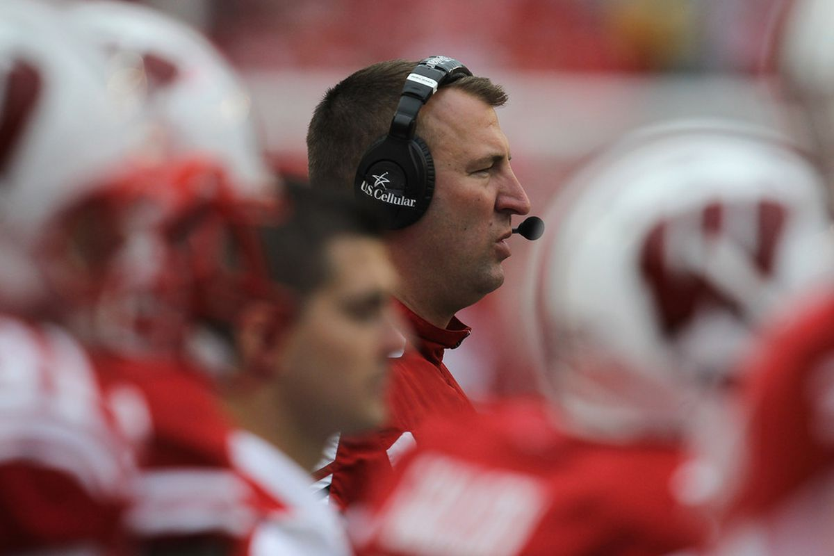Bret Bielema is not worried about his players' getting caught up in the media storm surrounding Saturday's game with Nebraska.