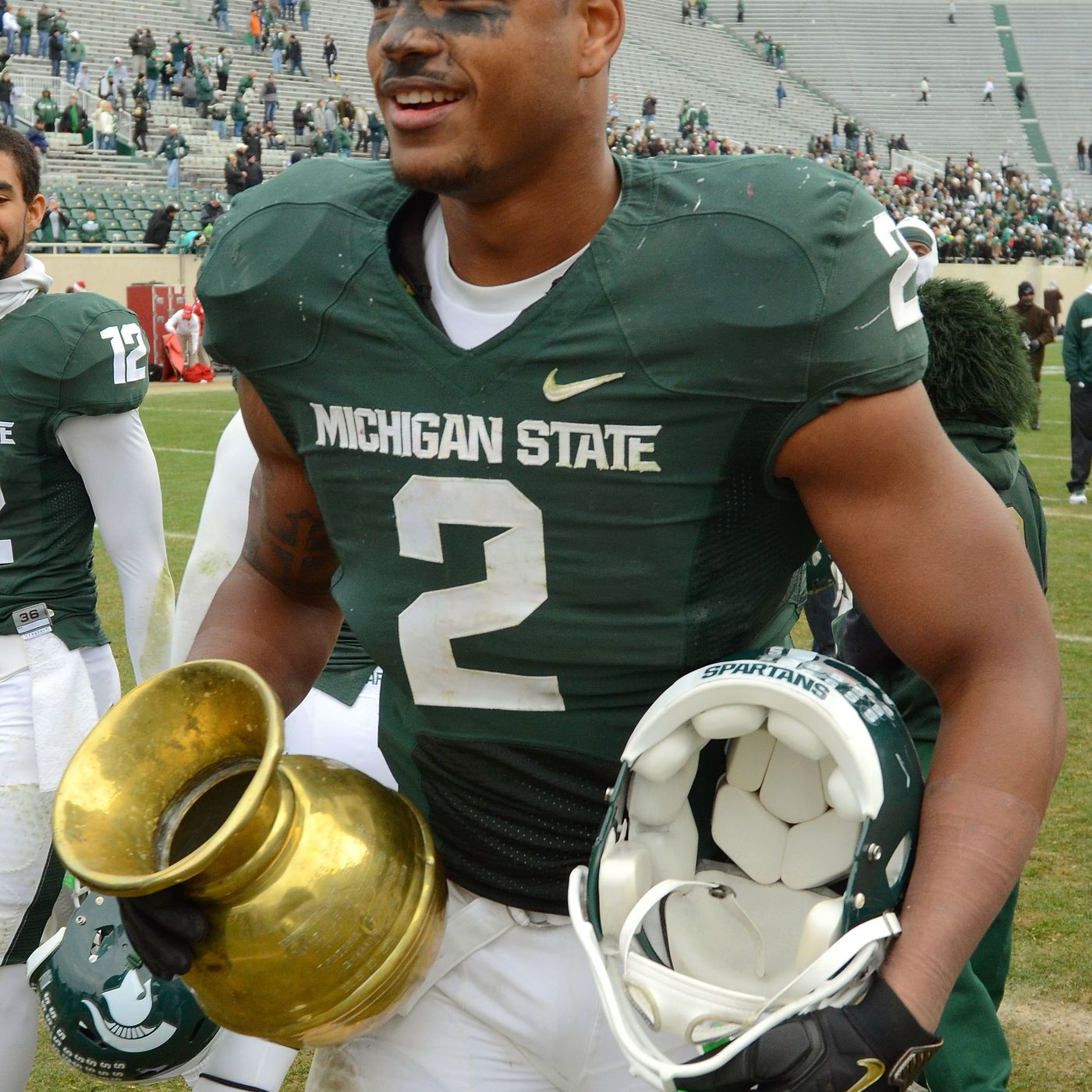 bc03c77109 Why Michigan State-Indiana s rivalry trophy is a spittoon - SBNation.com