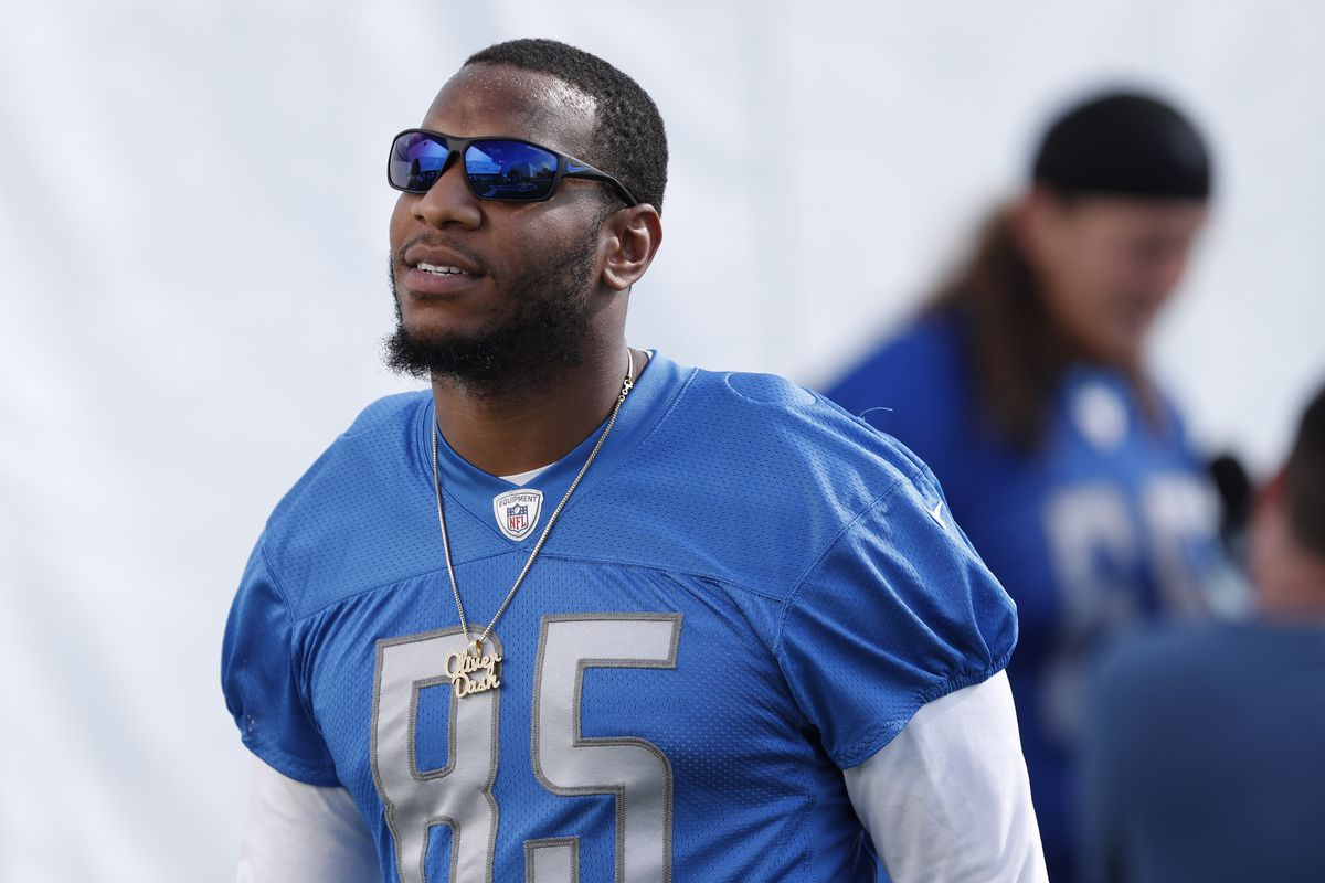 Eric Ebron Rick Wagner return to practice vs Colts Pride