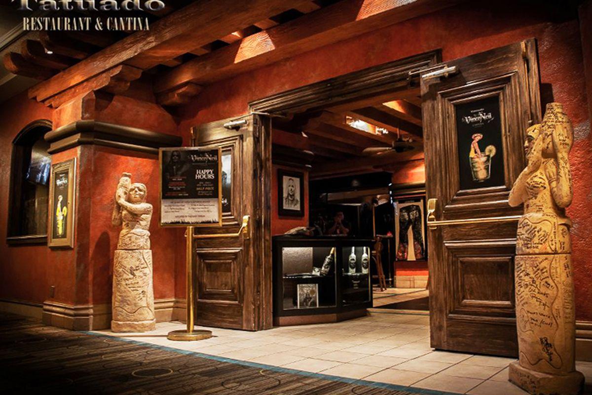 Vince Neil S Tatuado Restaurant Cantina By