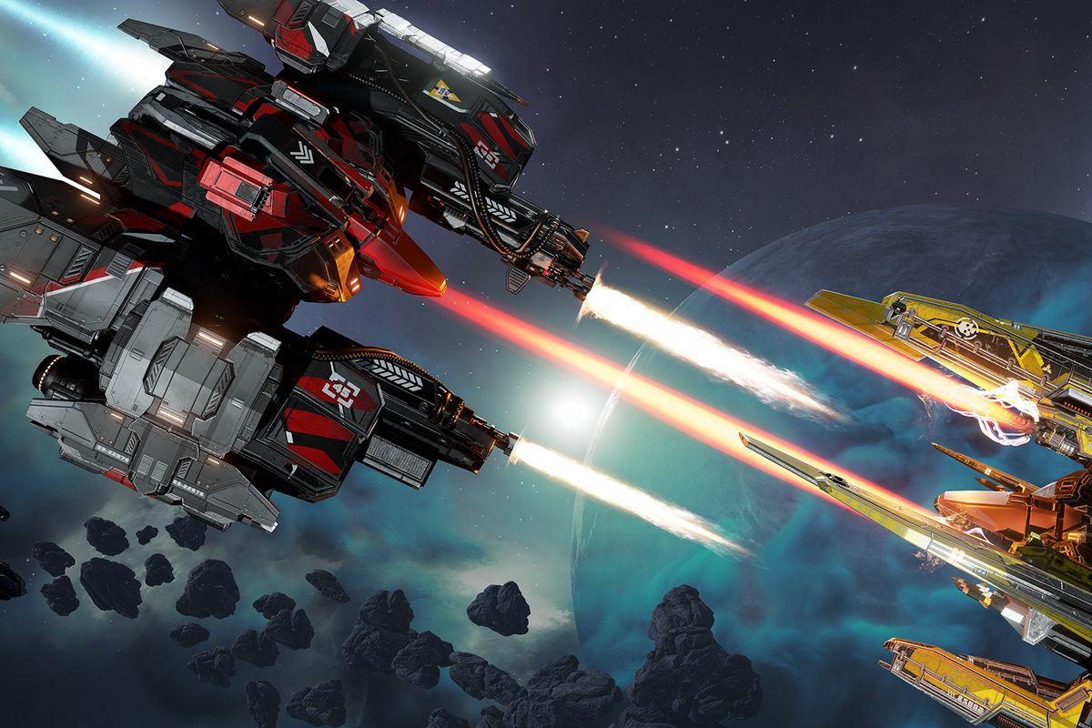 EVE: Valkyrie, VR's first big game, is no longer VR-only - The Verge