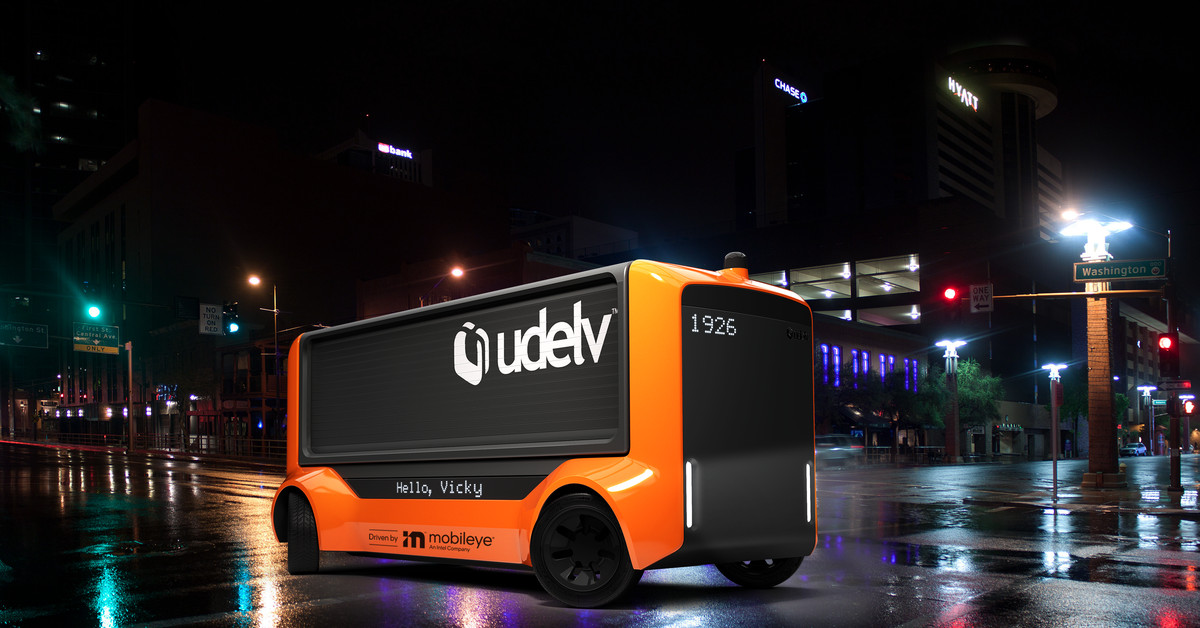 Intel's Mobileye will launch a fully driverless delivery service in 2023