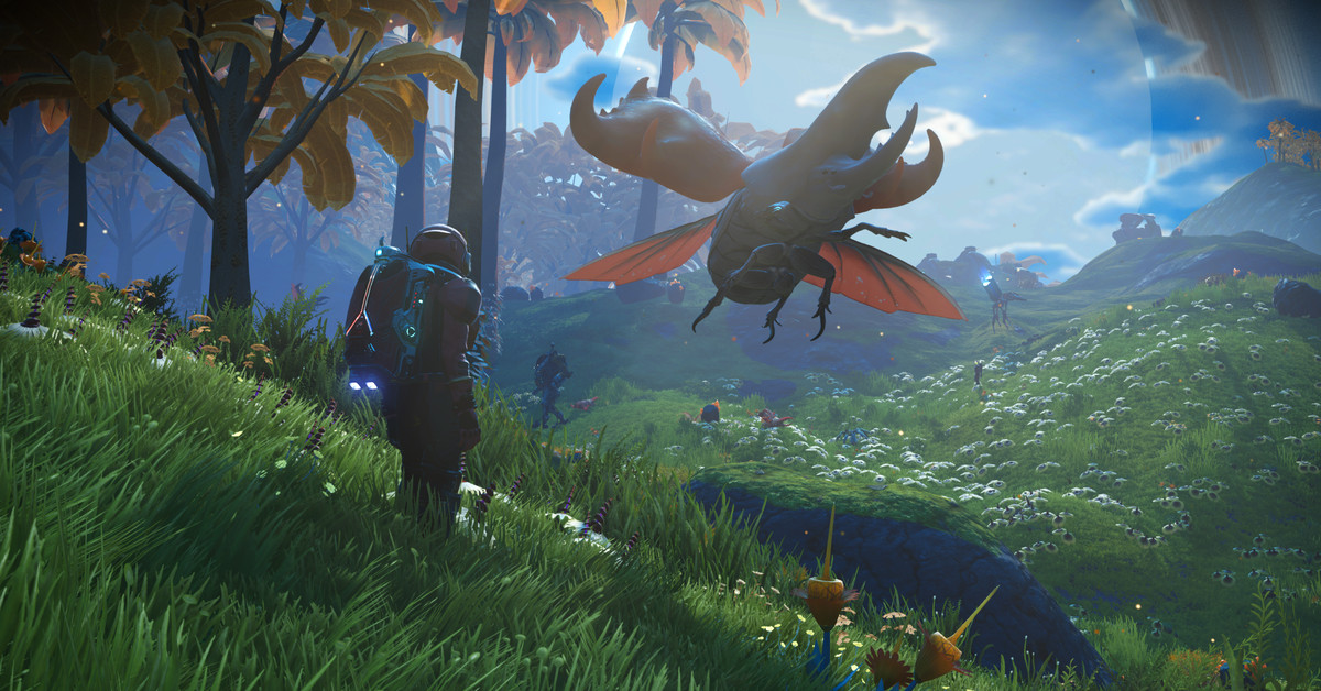 No Man's Sky will launch alongside PS5 and Xbox Series X with a big next-gen update - The Verge