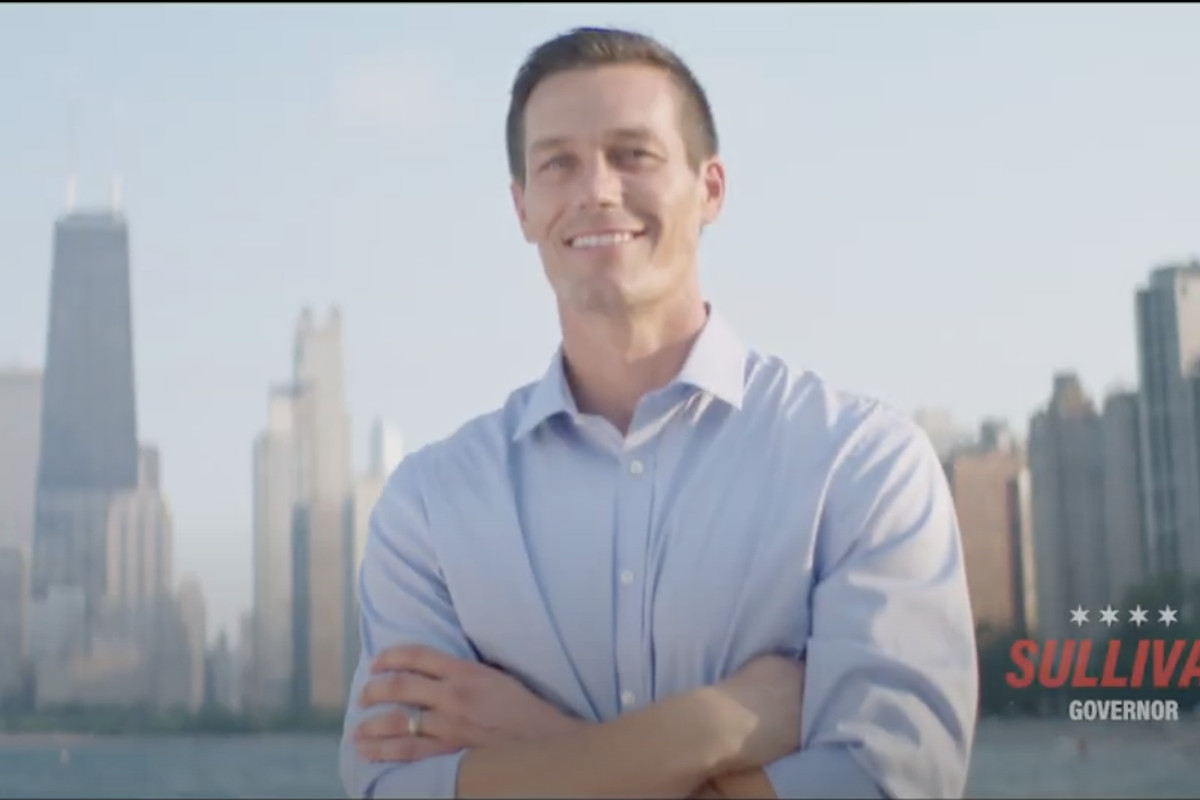 Jesse Sullivan, a candidate for governor, appears in his first TV ad, which is slated to start airing on Oct. 2.