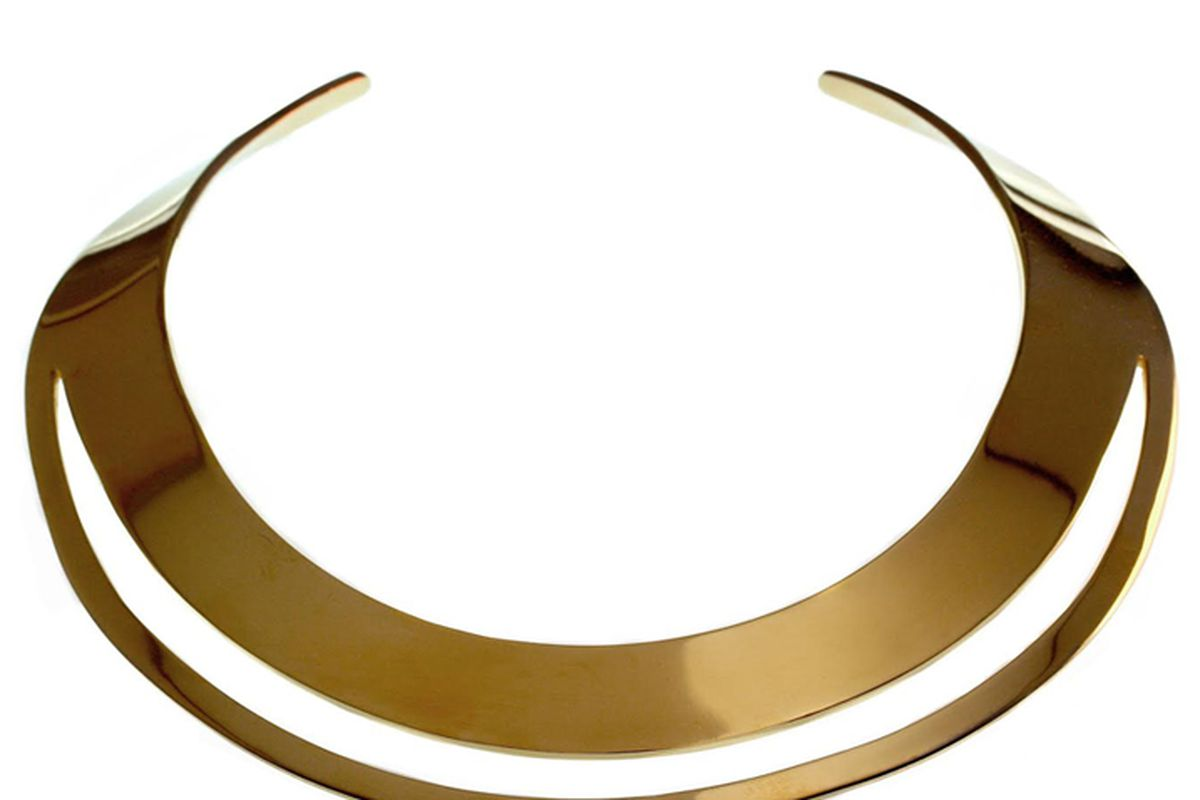 """TomTom Jewelry Brasilia collar, <a href=""""http://www.tomtomjewelry.com/collections/new/products/brasilia-collar"""">$600</a>"""