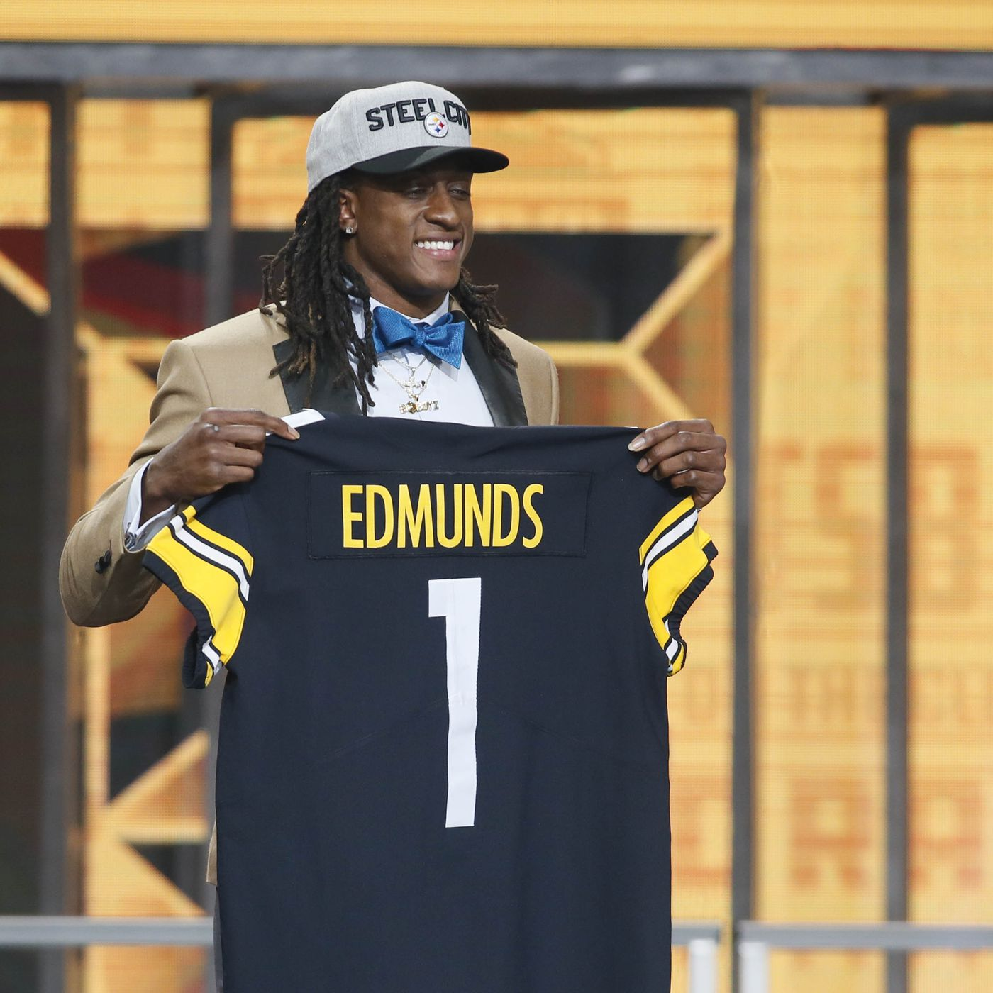 2018 NFL Draft Grades  Mixed reviews for the Steelers  top pick Terrell  Edmunds 9e9f67aa048