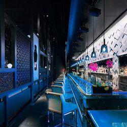 The bar at Hakkasan. Photo: Francis and Francis