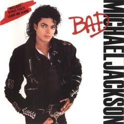 """""""Bad"""" album cover 1987"""
