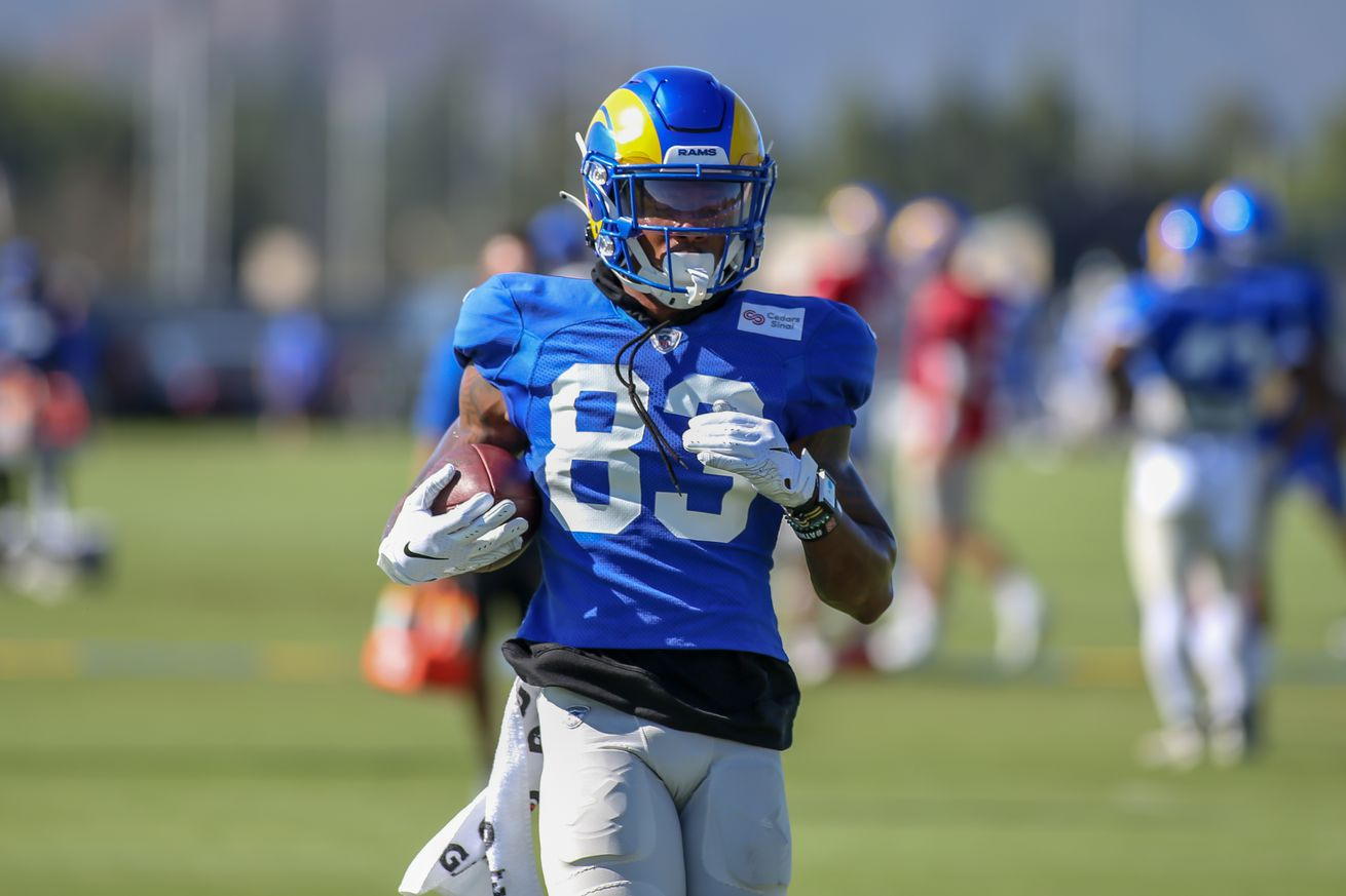 NFL: AUG 26 Rams Training Camp