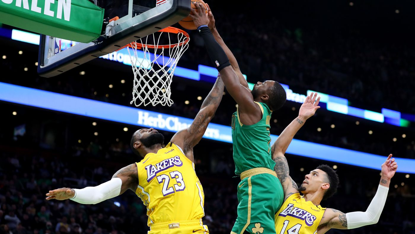 The Celtics Broke Out of Their Funk by Routing the Lakers