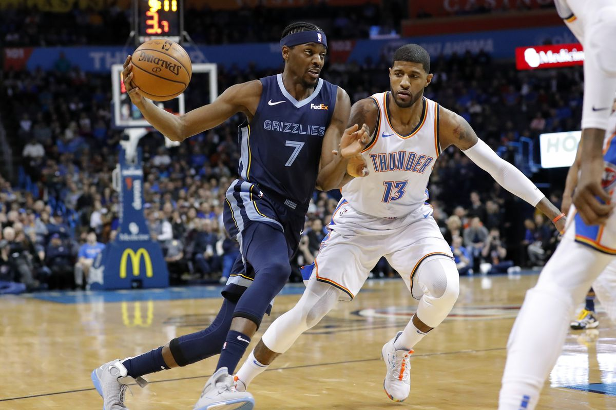 Game Preview  Memphis Grizzlies at Oklahoma City Thunder - Grizzly ... 4d8c493e4