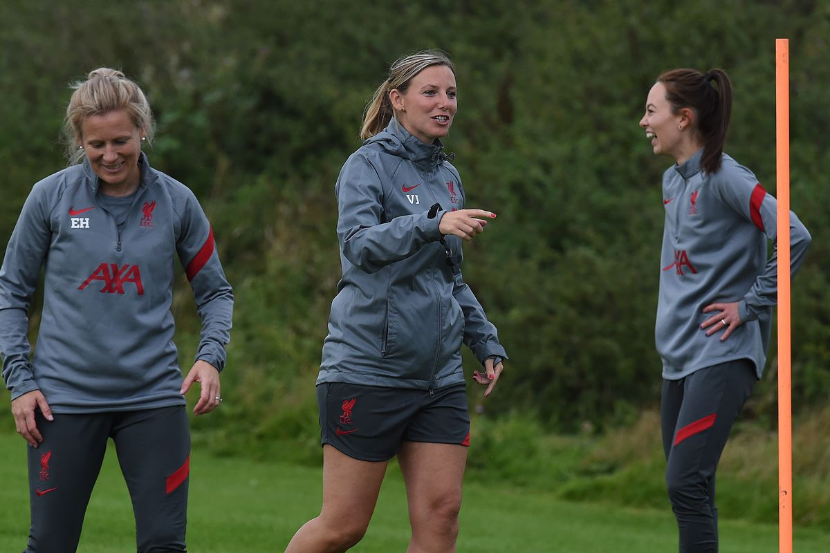 Liverpool Women Training Session