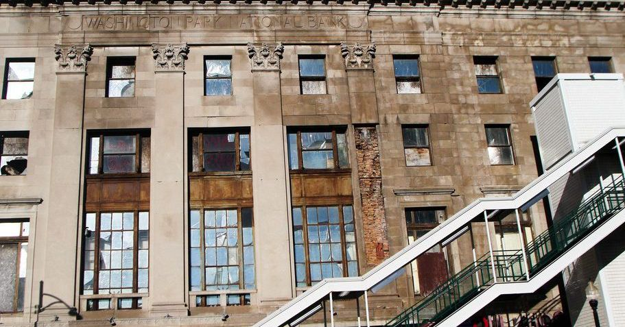 Historic Woodlawn bank building makes 'most endangered buildings' list as demolition looms