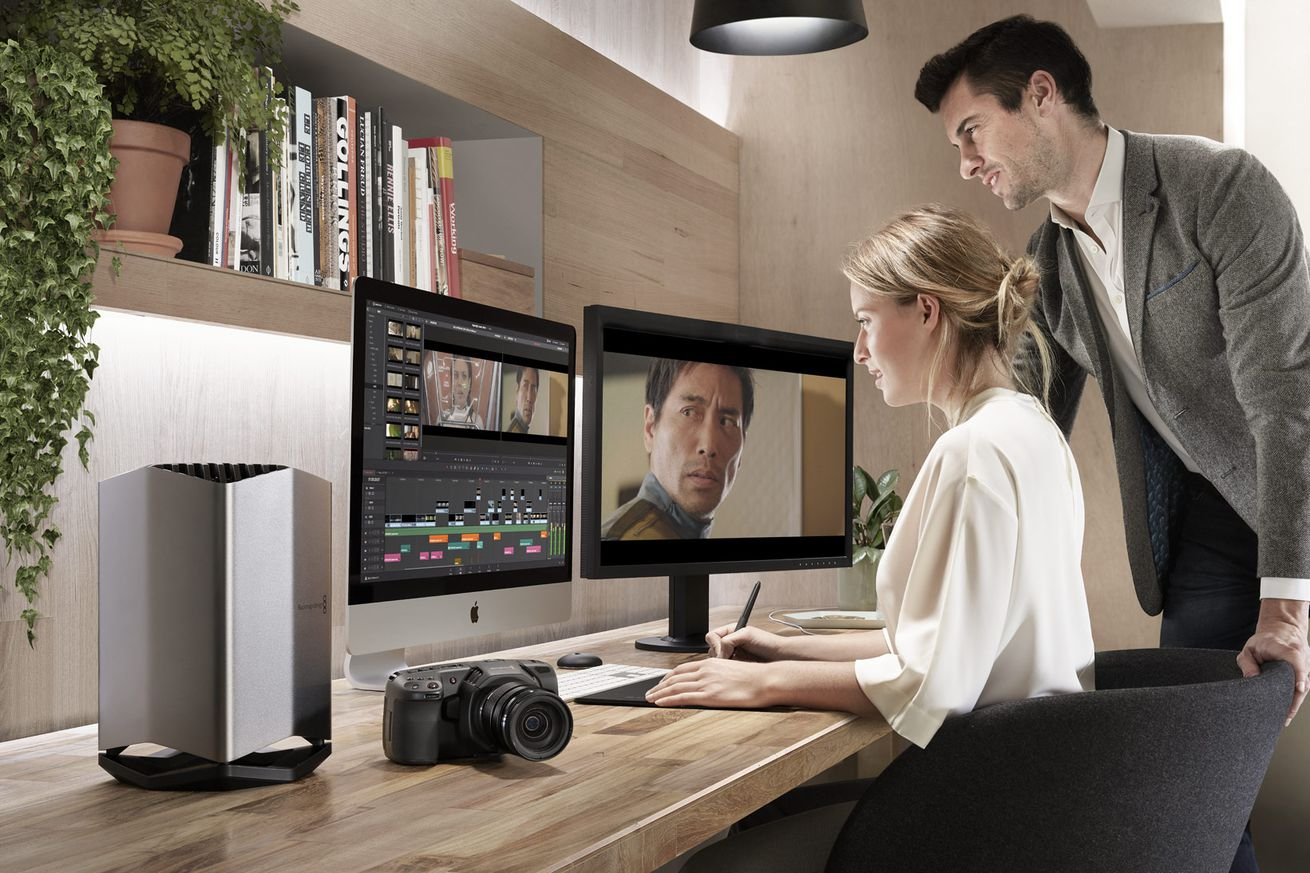 Apple worked with Blackmagic on a new external GPU