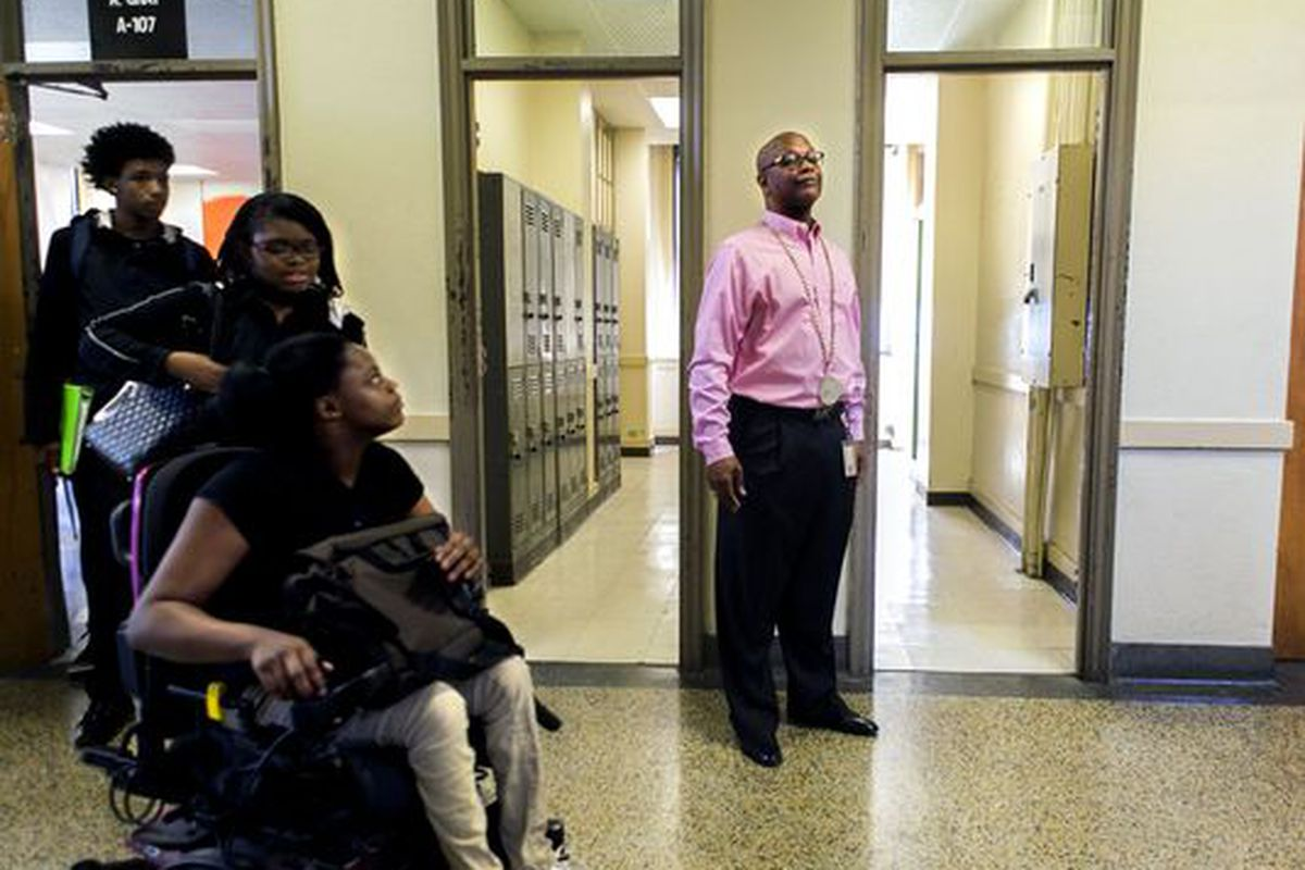 Vincent Hunter has been principal at Whitehaven High School for 14 years and started the Empowerment Zone two years ago.