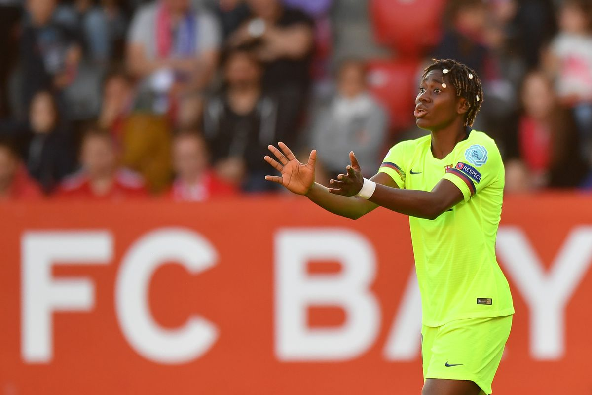 FC Bayern Munich v FC Barcelona - UEFA Women's Champions League: Semi Final First Leg