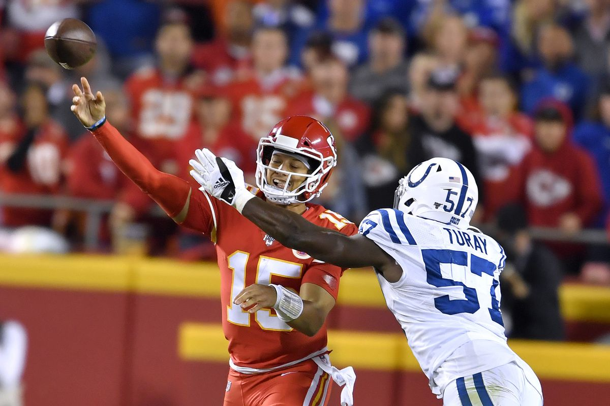 Chiefs lose to the Colts 19-13