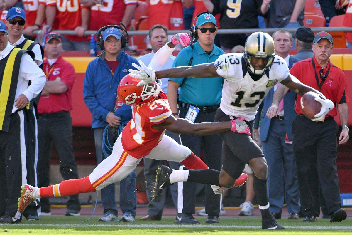 NFL: New Orleans Saints at Kansas City Chiefs